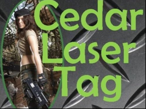 Laser Tag Cedar Galleries